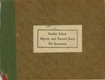 1963; Church Books; Sunday School (2) by Pilgrim Missionary Baptist Church