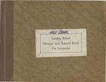 1965; Church Books; Sunday School (1) by Pilgrim Missionary Baptist Church