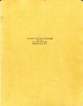 Scrapbook; Church Activities; 1961-1965