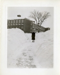 Outdoor on Campus Winter Photograph; 1938