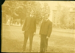 Harry W. Rockwell with Unidentified Man Photograph