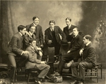 Harry W. Rockwell and Classmates Photograph, c. 1895-1905