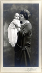 Marjorie and Helen Rockwell Photograph; c. 1923-1924; Image 1