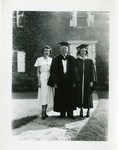 Harriet Rockwell Vogelsang Graduation Photograph; 1951; Image 3 by Harry W. Rockwell