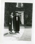 Harriet Rockwell Vogelsang Graduation Photograph; 1951; Image 4 by Harry W. Rockwell