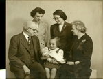 Rockwell Family Photograph; c. 1945-1955 by Harry W. Rockwell