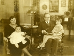 Rockwell Family Photograph; c. 1929-1930 by Harry W. Rockwell