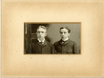 Fred and Harry Rockwell Photograph; c. 1890-1900 by Harry W. Rockwell