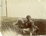 Two Unidentified Children Photograph by Harry W. Rockwell