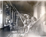 Children on Hammock Photograph