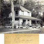 Family Cottage Photograph; 1894 by Harry W. Rockwell