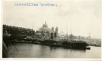 France; Marseilles; 1926; Harbor; Photograph by Harry W. Rockwell