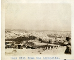 Greece; Athens; 1926; Mars Hill; Photograph by Harry W. Rockwell