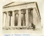 Greece; Athens; 1926; Temple of Thesus; Photograph by Harry W. Rockwell