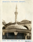 Turkey; Constantinople; 1926; Sulieman Mosque; Photograph by Harry W. Rockwell