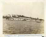 Turkey; Constantinople; 1926; Seraglio and Grounds; Photograph by Harry W. Rockwell
