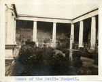 Italy; Pompeii; 1926; House of the Vetii; Photograph by Harry W. Rockwell