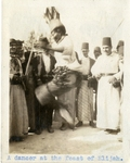Syria; Damascus; 1926; Dancer; Photograph by Harry W. Rockwell
