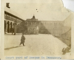 Syria; Damascus; 1926; Mosque Courtyard; Photograph by Harry W. Rockwell