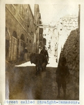 Syria; Damascus; 1926; Straight-Damascus; Photograph