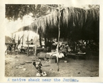 Middle East; 1926; Native Residence Near the River Jordan; Photograph