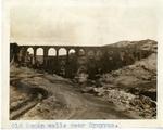 Turkey; Smyrna; 1926; Roman Walls Near Smyrna; Photograph