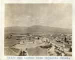 Israel; Haifa; 1926; View From Majestic Hotel; Photograph by Harry W. Rockwell