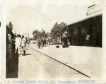 Syria; Damascus; 1926; Damascus Station; Photograph by Harry W. Rockwell