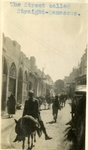 Syria; Damascus; 1926; Straight-Damascus; Photograph by Harry W. Rockwell
