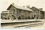 Lebanon; Rayak; 1926; Rayak Station; Photograph by Harry W. Rockwell