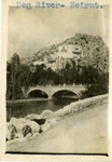 Lebanon; Beirut; 1926; Dog River; Photograph by Harry W. Rockwell