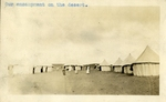 Egypt; Giza; 1926; Desert Camp; Photograph by Harry W. Rockwell