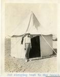 Egypt; Giza; 1926; Sleeping Tent; Photograph