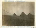 Egypt; Giza; 1926; The Pyramids of Giza at Night; Photograph by Harry W. Rockwell