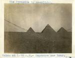 Egypt; Giza; 1926; The Pyramids of Giza at Night; Photograph