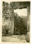 Lebanon; Baalbek; 1926; Ruins of Baalbek; Photograph by Harry W. Rockwell