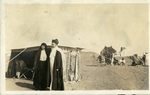 Egypt; Giza; 1926; Bedouin sheik and Wife; Photograph by Harry W. Rockwell