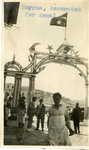 Turkey; Smyrna; 1926; Smyrna Decorated For Kemal; Photograph by Harry W. Rockwell