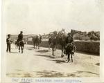 Turkey; Smyrna; 1926; Caravan Near Smyrna; Photograph by Harry W. Rockwell