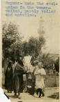 Turkey; Smyrna; 1926; Turkish Women; Photograph by Harry W. Rockwell