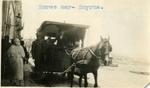 Turkey; Smyrna; 1926; Horse Car; Photograph by Harry W. Rockwell