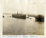 "Turkey; Smyrna; 1926; ""Lamartine"" in Smyrna Harbor; Photograph by Harry W. Rockwell"