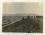 Middle East; 1926; Shore of the Dead Sea; Photograph by Harry W. Rockwell