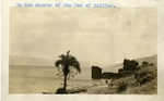 Israel; 1926; Shores of the Sea of Galilee; Photograph by Harry W. Rockwell