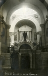 Israel; 1926; Interior of Church at Cana of Galilee; Photograph by Harry W. Rockwell