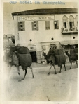 Israel; Nazareth; 1926; Hotel Royal; Photograph by Harry W. Rockwell