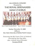 Advertisements; 2000-11-19 by The Royal Serenaders Male Chorus