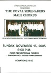 Advertisements; 2005-11-13 by The Royal Serenaders Male Chorus
