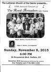 Advertisements; 2015-11-08 by The Royal Serenaders Male Chorus
