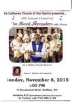 Advertisements; 2015-11-08 by The Royal Serenaders Male Chorus